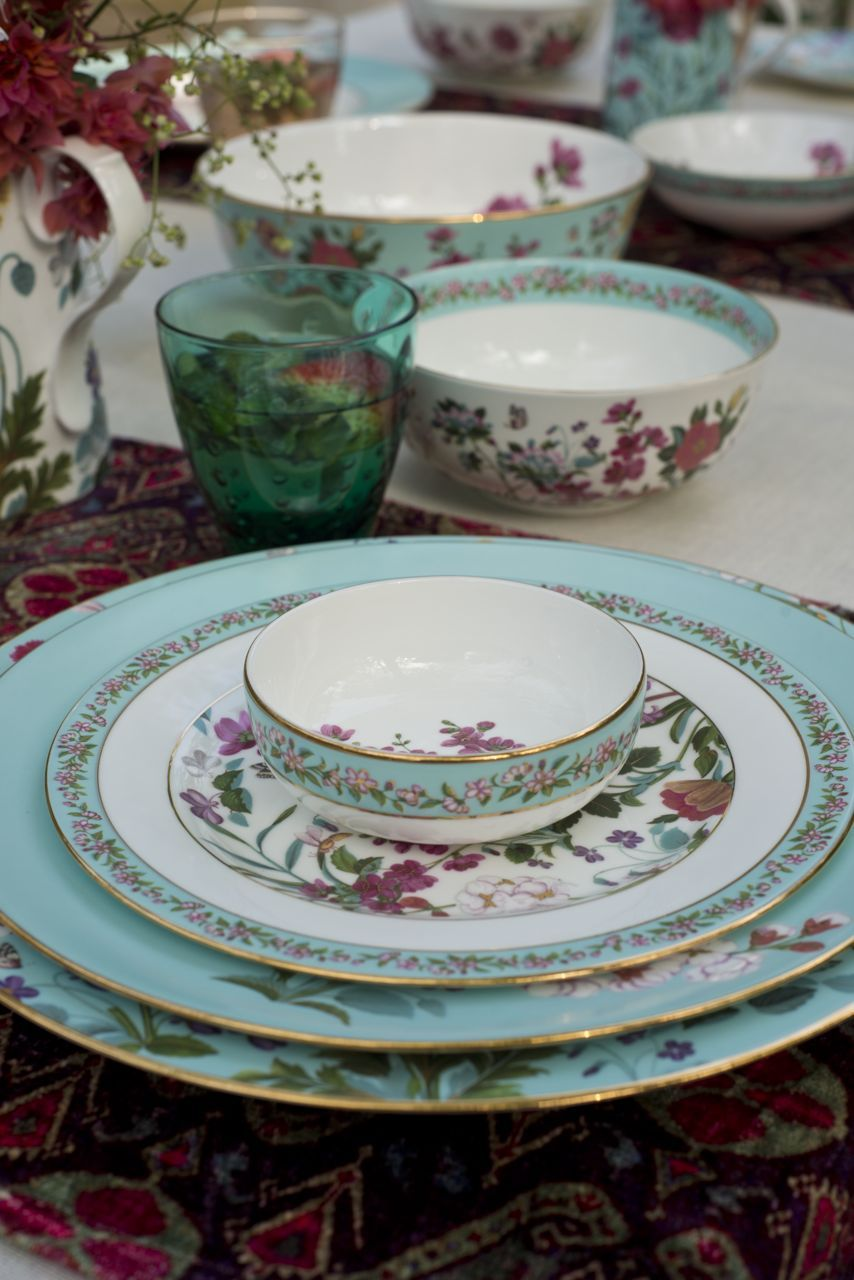 Inspired By A Vintage Persian Miniature Illustrating Paradise Garden