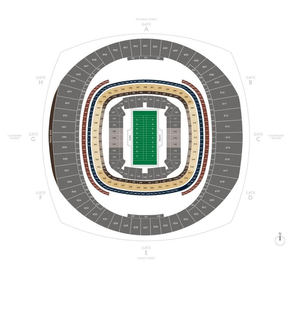 Idea Of Mercedes Benz Stadium Virtual Seating Chart Chart