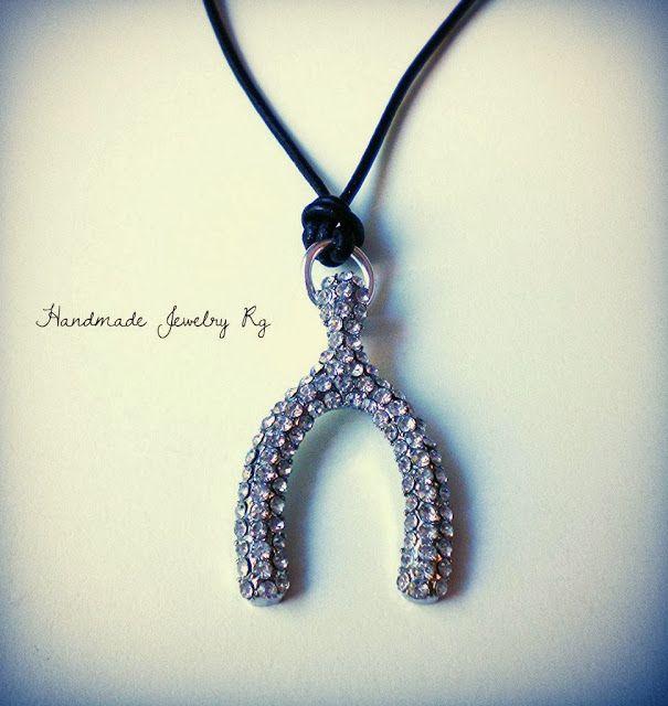 Handmade Jewelry Rg: Necklace Wish Bone