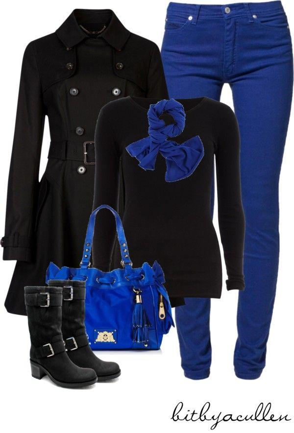 U0026quot;Tardis Blueu0026quot; by bitbyacullen on Polyvore | Jean Outfits Fall/Winter | Pinterest | Tardis blue ...