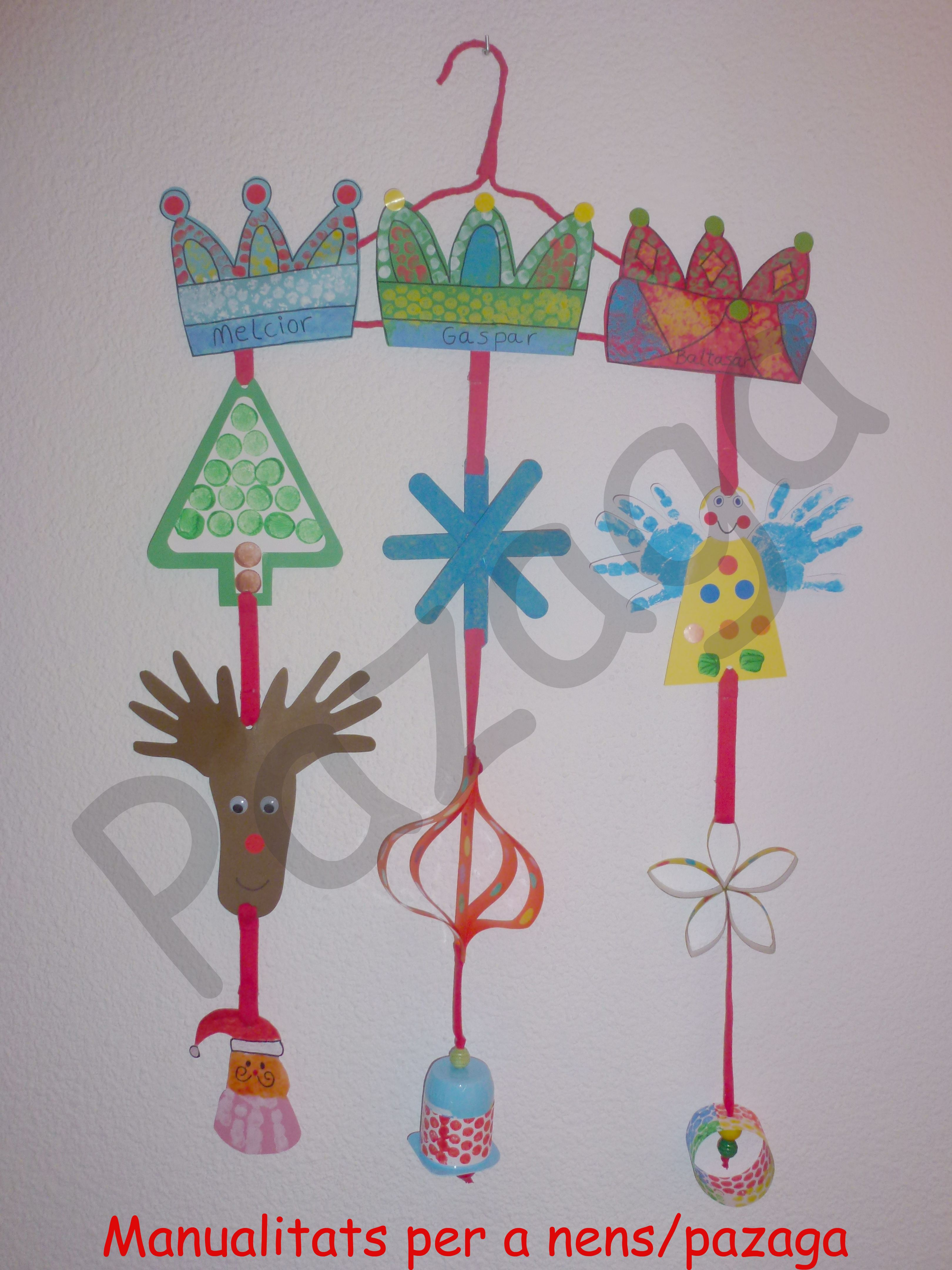 Móvil navideño para niños P1 y P2  2e9d4e130fc62