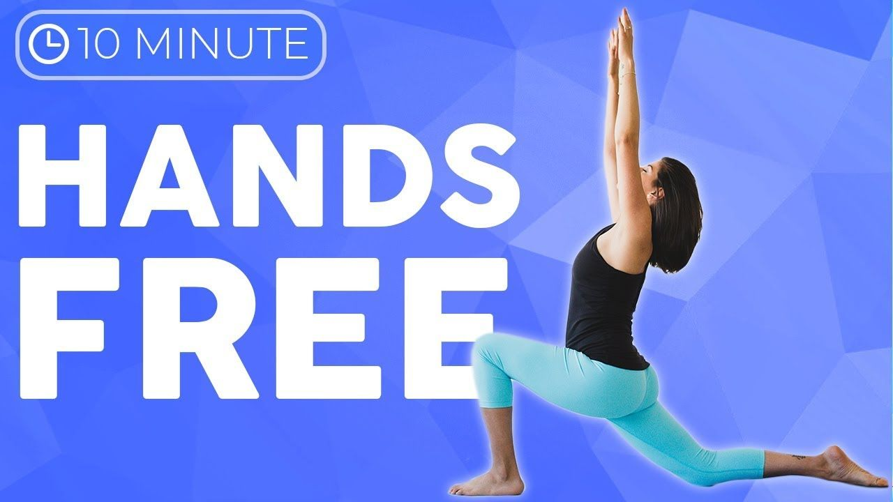 Hands Free Yoga (10 minute) Standing Yoga Stretches | Sarah