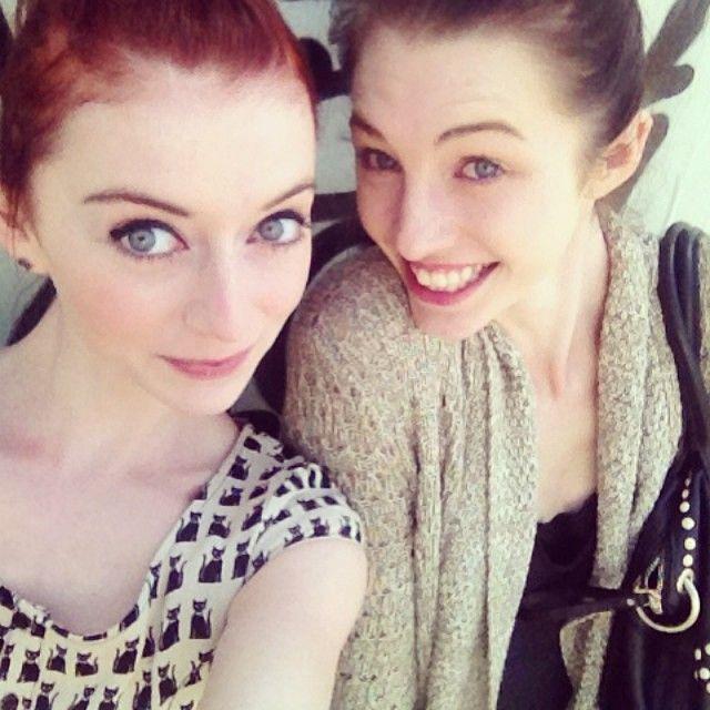 Nina Burns And Allison Harvard