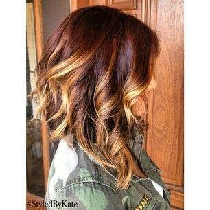 Long Bob Ombre Hair Hair Pinterest Hair Styles Hair And Hair
