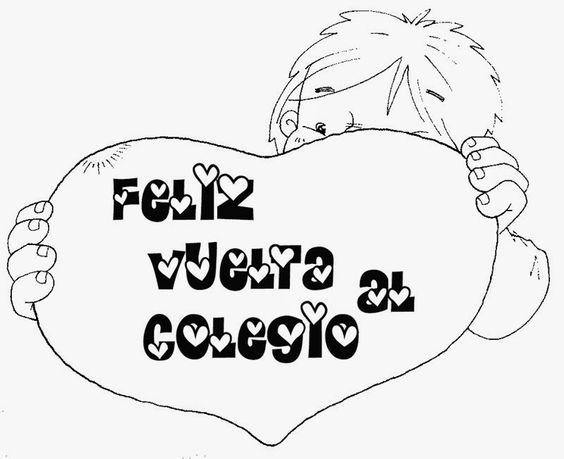Imagenes De Bienvenida Al Nuevo Ano Escolar Para Colorear Busqueda De Google Tarjeta De Bienvenida Bienvenida Al Colegio Carteles De Bienvenida