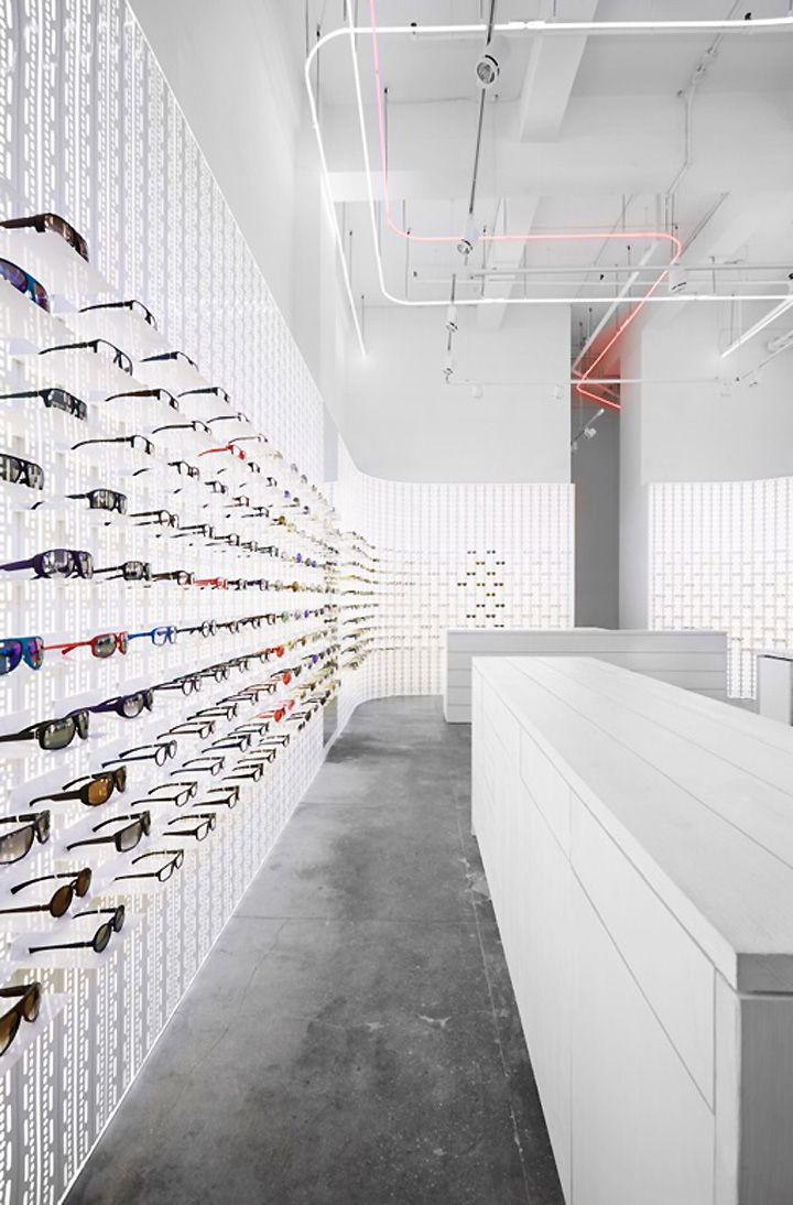 Eyeglass Frames New York City : EYEWEAR STORES! Mykita eyewear shop, New York City Store ...