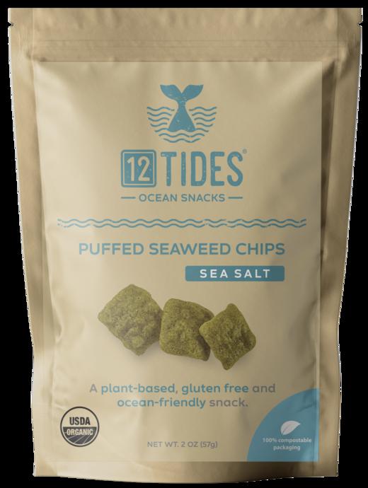 12 Tides in 2020   Seaweed snacks, Ocean snacks, Seaweed chips