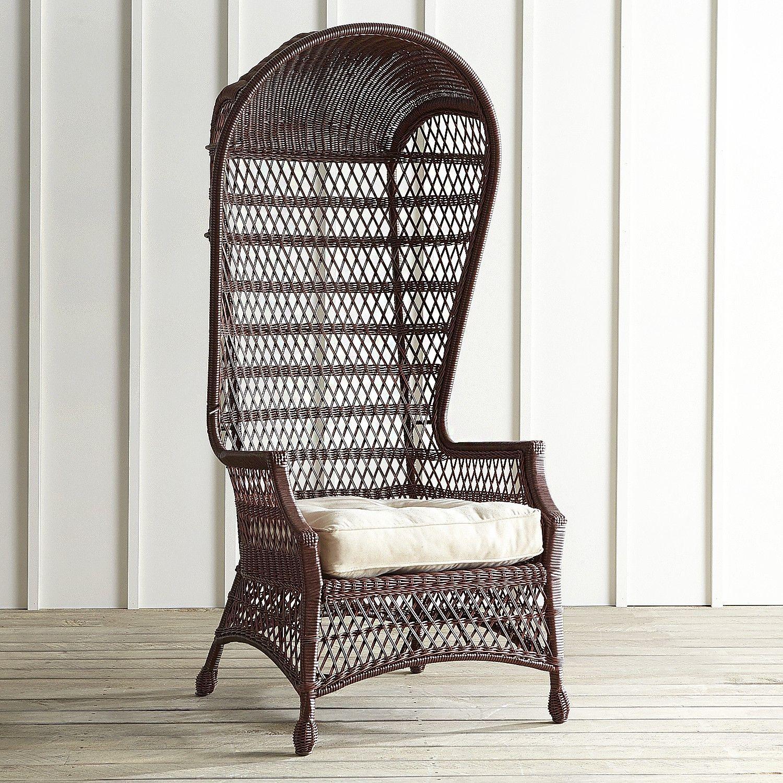 Sunset Pier Chestnut Dome Chair
