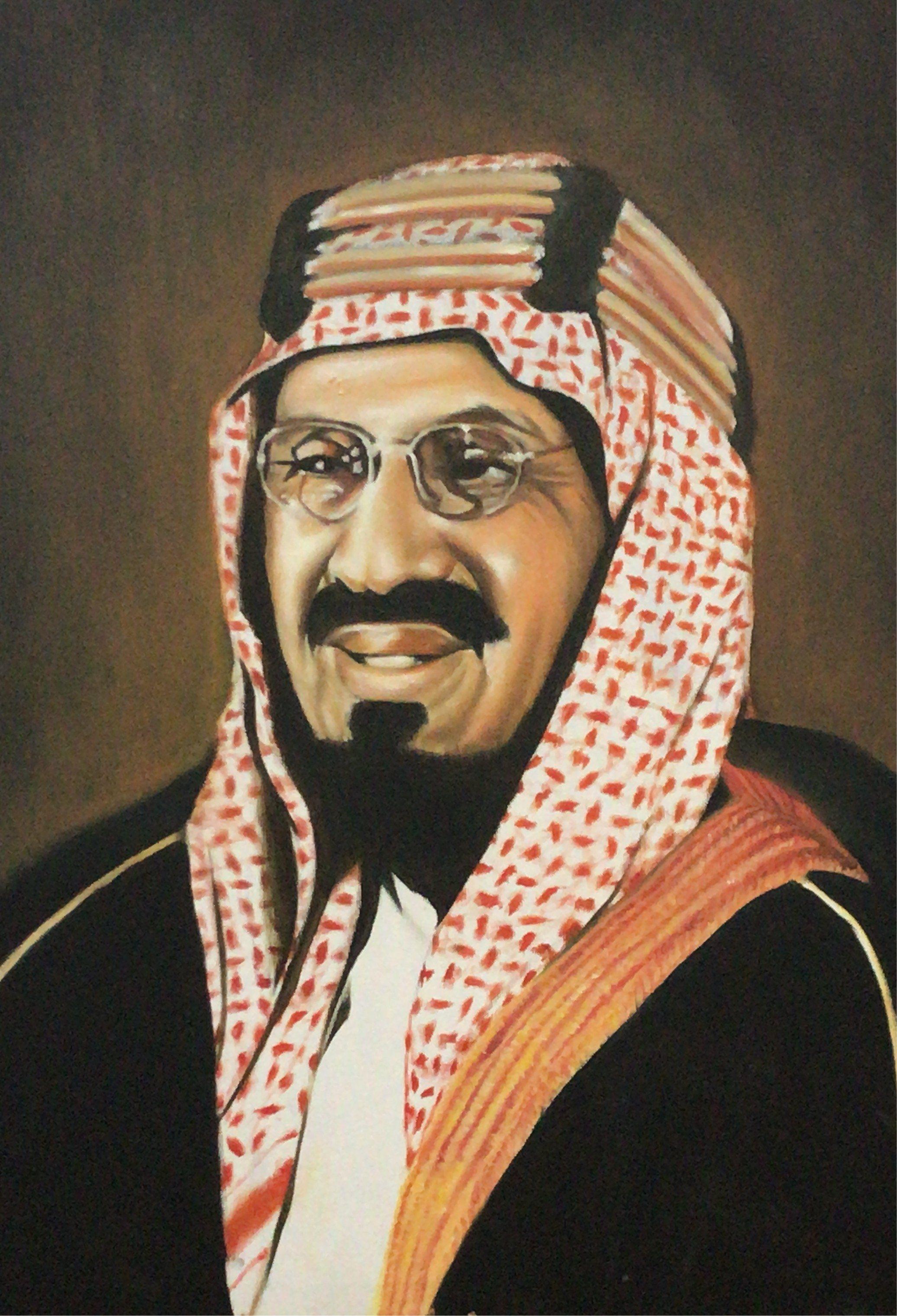 الملك عبدالعزيز Handsome Arab Men Art Arab Men