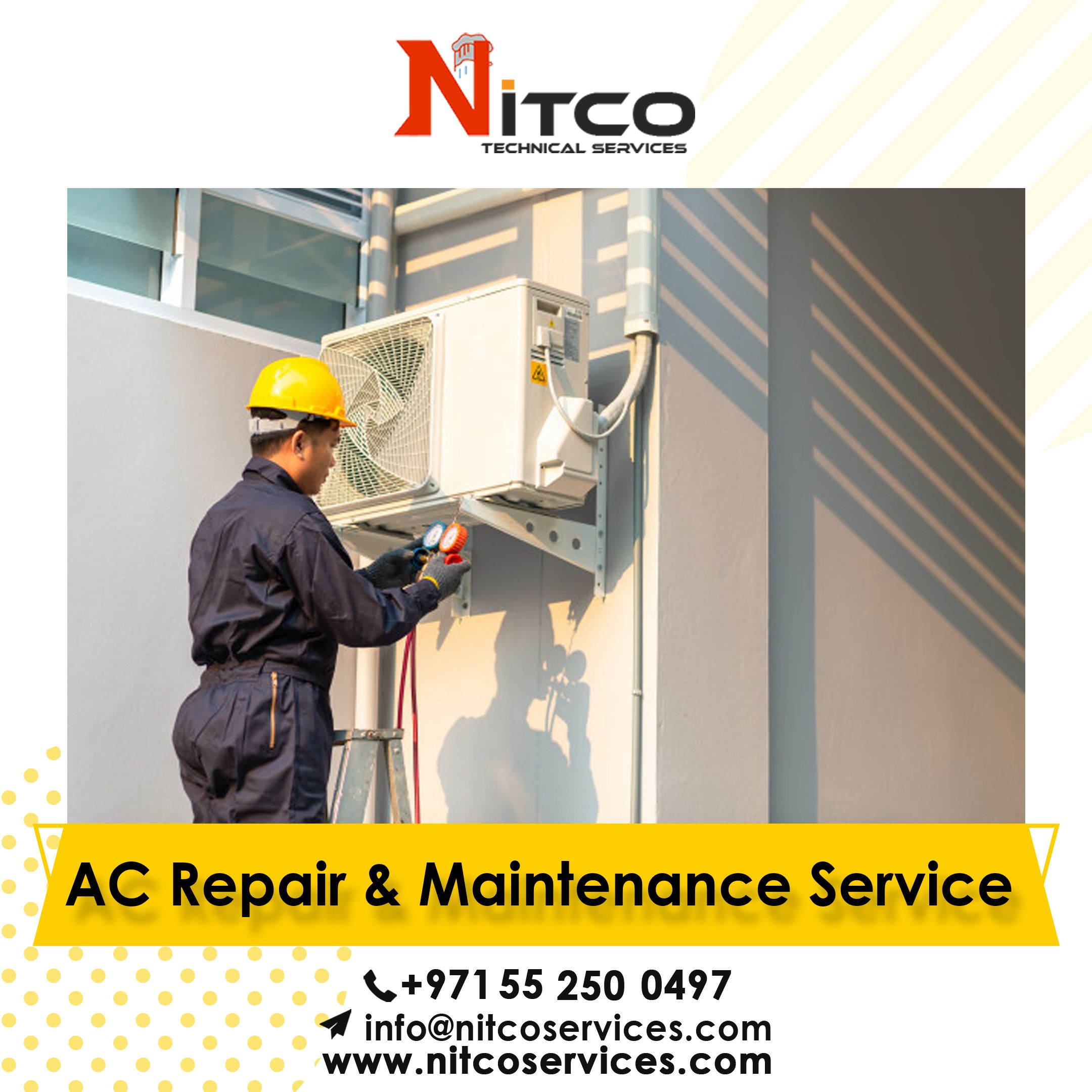 Air Conditioning Services Nitco Technical Services Call Us 055