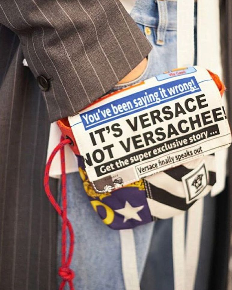 "2fc8751694573 Hot off the press! ""It s Versace"