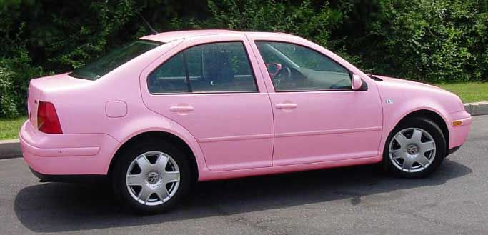 Pink Cars Pink Vw Jetta Awesome Girly Cars Girly Stuff So