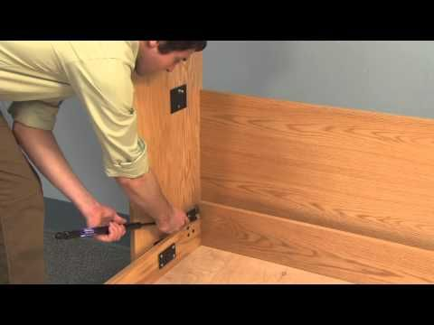 create a bed deluxe murphy bed mechanism with tube legs create a bed deluxe murphy bed mechanism with tube legs youtube diy solutioingenieria Gallery