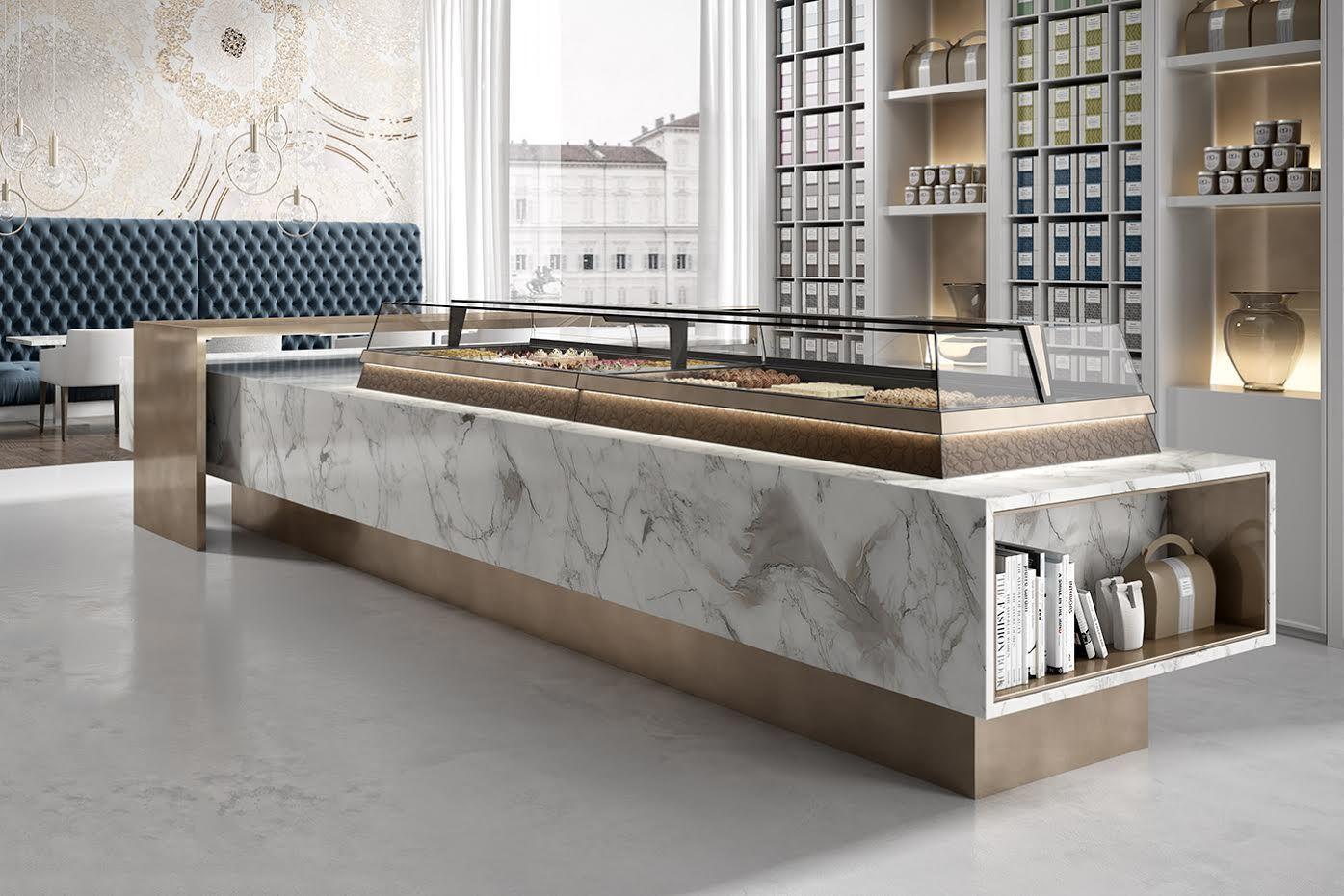 Vetrina Orion Jobs | Restaurant design, Counter design ...