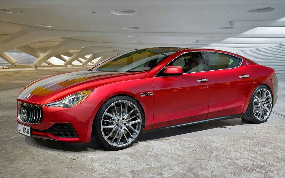 Red Maserati 4 Door The Only 4 Door Car I Ever Owned Maserati Ghibli Maserati Celebrity Cars