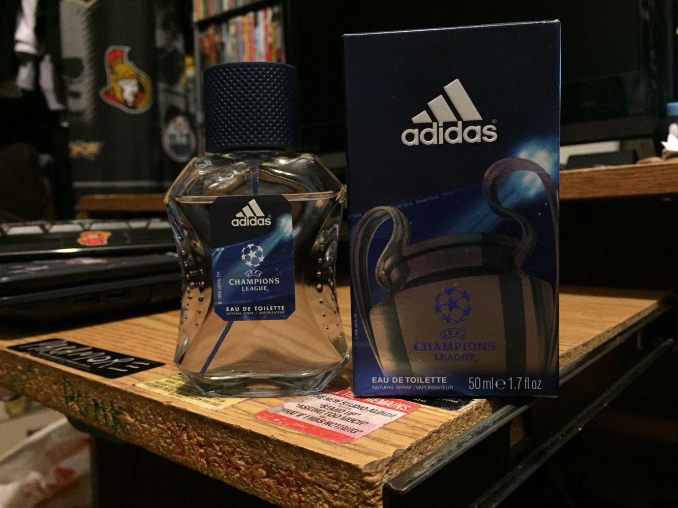 raíz Viaje adherirse  Adidas UEFA Champions League eau de toilette natural spray   Eau de toilette,  Body spray, Perfume bottles