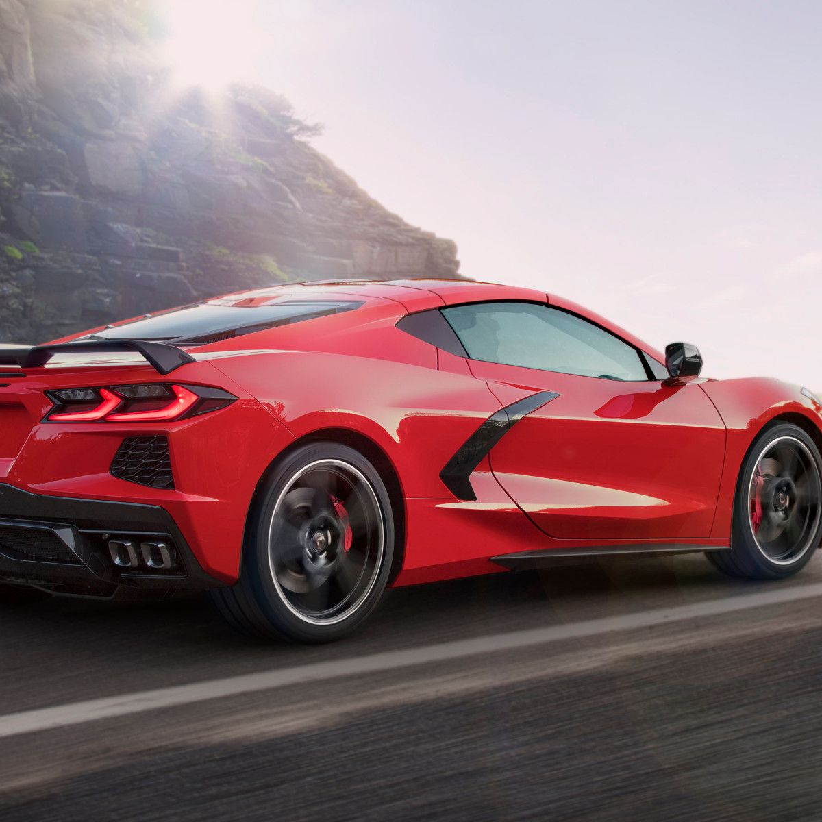 2020 Chevrolet Corvette C8 Red Car Wallpaper 4k Chevrolet Corvette Chevrolet Corvette