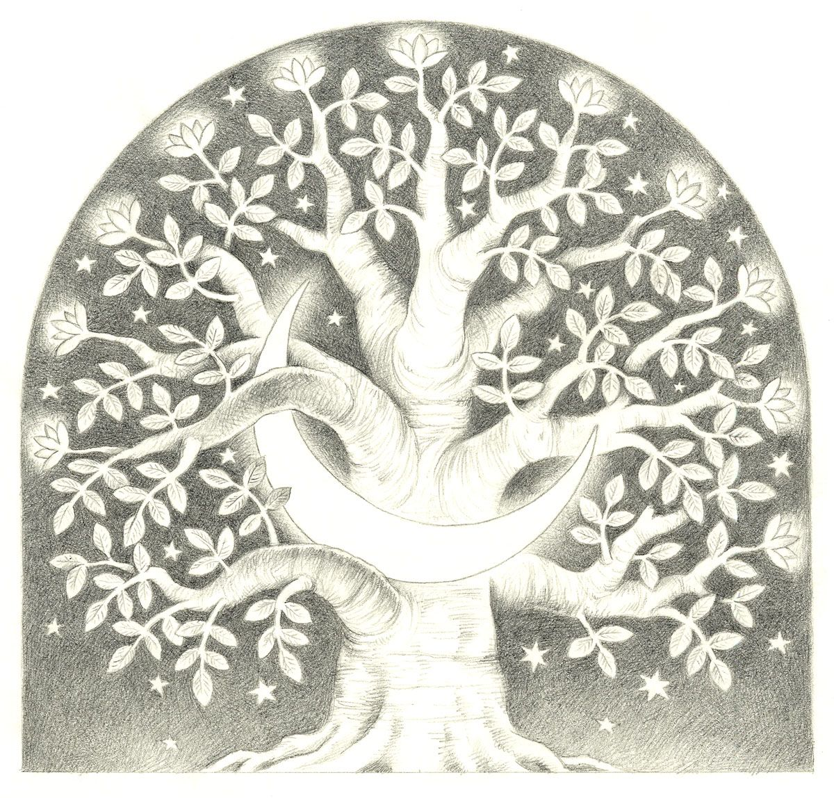 A beautiful Christmas Tree Image in a Scandinavian style. ✯This is not a free image✯ Moonwood by Hunter Brown.