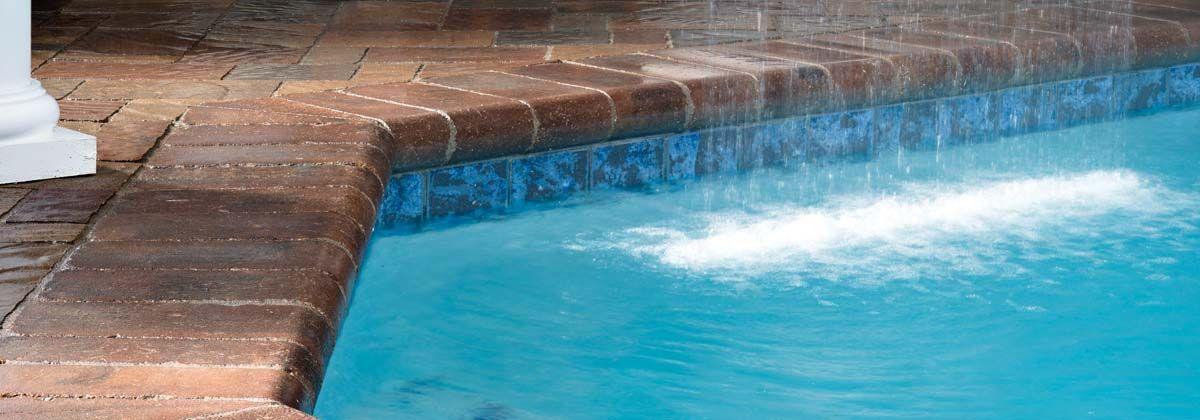 Bullnose Coping | pools | Pool coping, Family pool, Backyard landscaping
