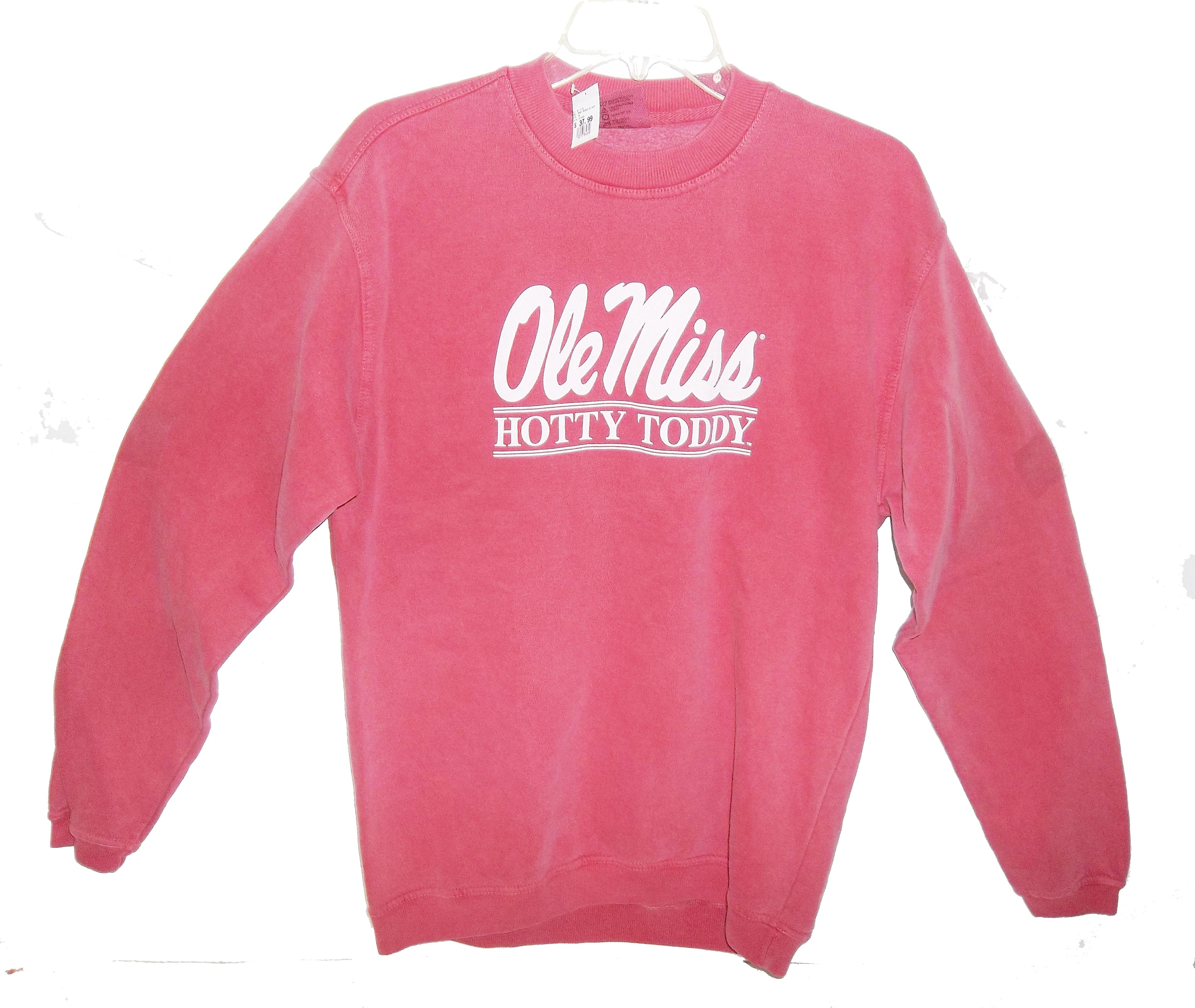 latest discount many fashionable better Comfort Colors Bomber Sweatshirt - Campus Book Mart | Ole miss ...