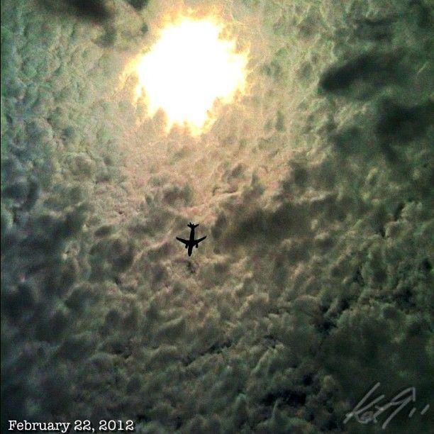 飛行機 #airplane #sky #cloud #philippines #雲 #空