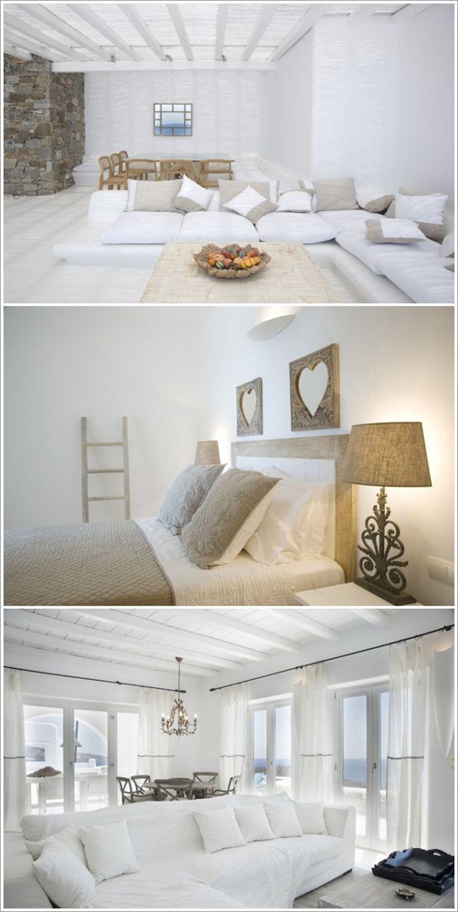 Greek rustic decor greek inspired interior decor for Greek bedroom decor