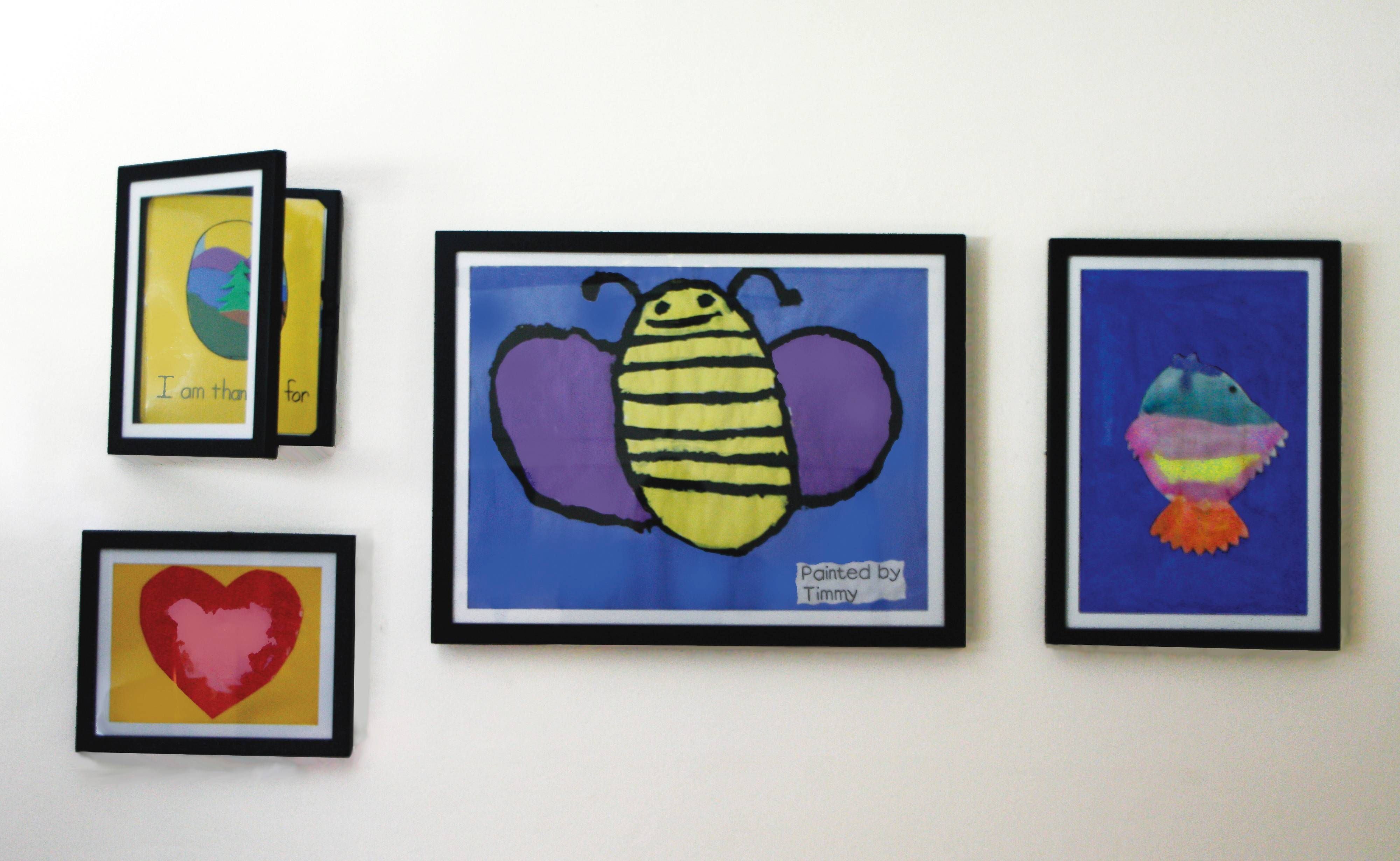 Kids Art Adds Personal Touch