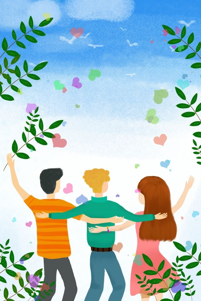 International Friendship Day Friendship Day Friendship Friend, Festival, Friendship, Friend Illustration Image on Pngtree, Free Download on Pngtree