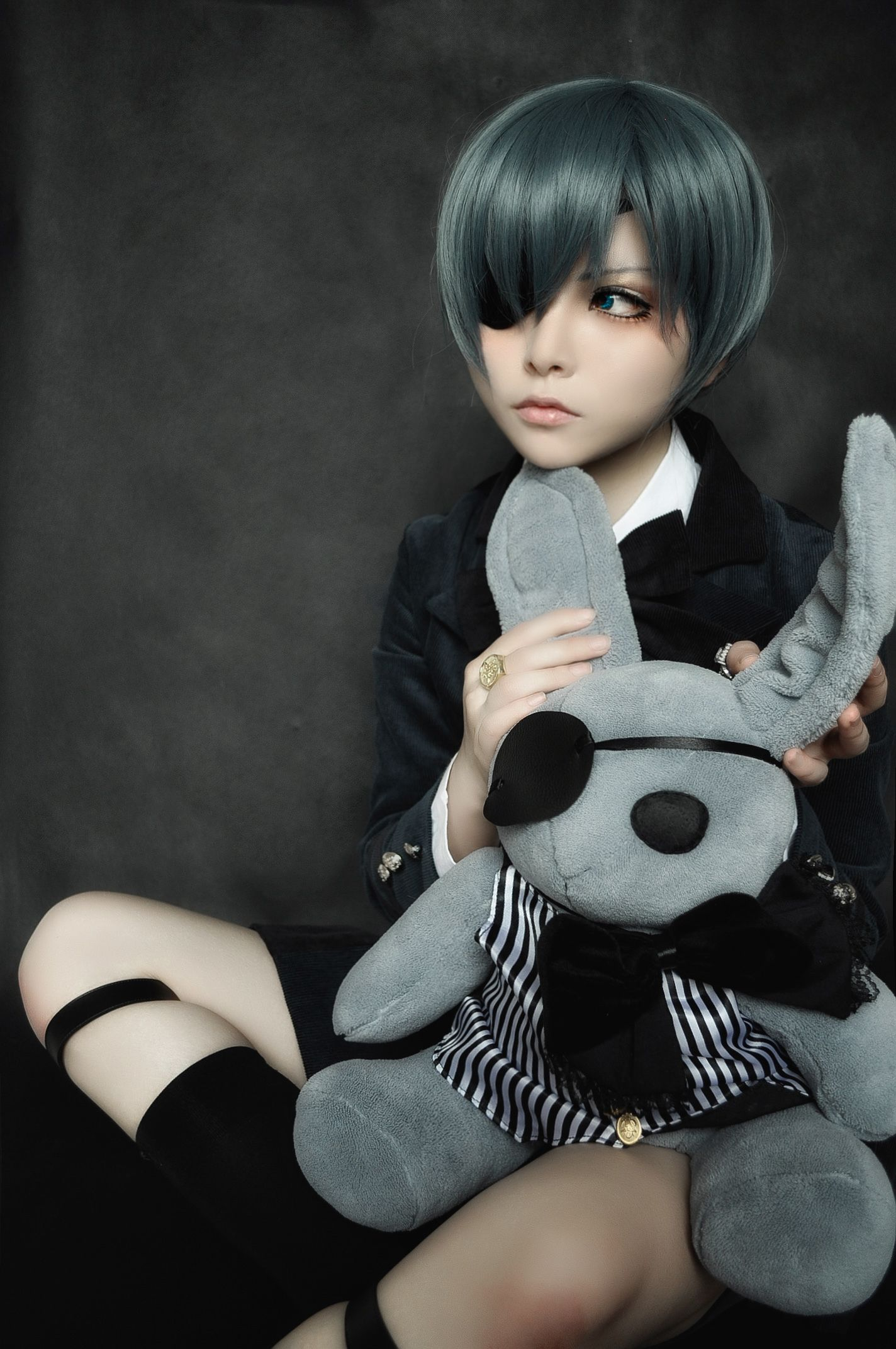 CIEL likyosan(米线菌) Ciel Phantomhive Cosplay Photo Cure