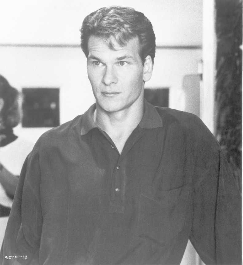 Patrick Swayze as Sam Wheat in Ghost