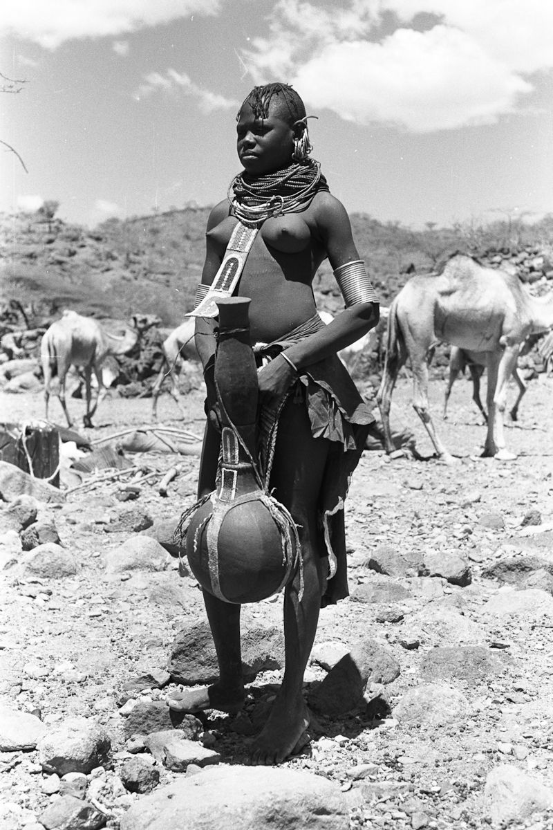 Wilfred Patrick Thesiger Date of Photo: 1961 Continent: Africa Geographical  Area: East Africa Country: Kenya Region/Place: Suguta valley Cultural  Group: ...