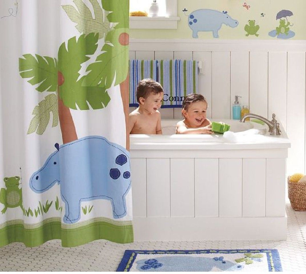 Unique And Colorful Kids Bathroom Ideas Furniture And Other - Baby boy bath for small bathroom ideas