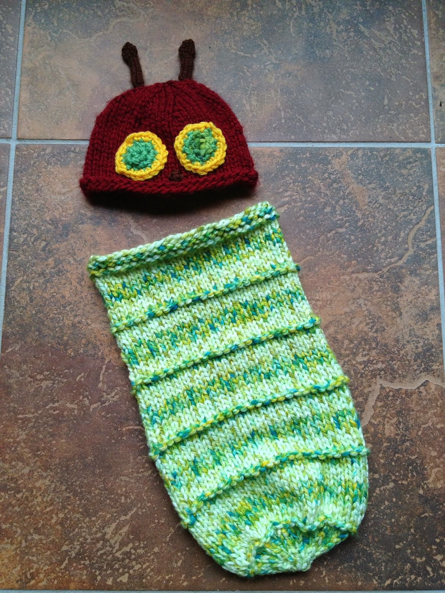 The first thing I ever crocheted were the two eyes on this hat. I ...