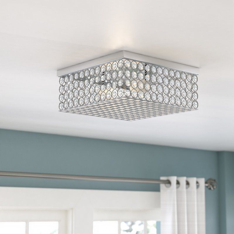 best loved 5a956 bcf7f Balfour Square 2-Light Flush Mount | Lane's Found Things in ...
