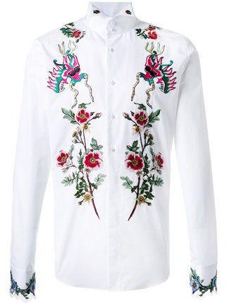 c42296d4e Gucci embroidered duke shirt | MEN MEN MEN | Gucci collar shirt ...
