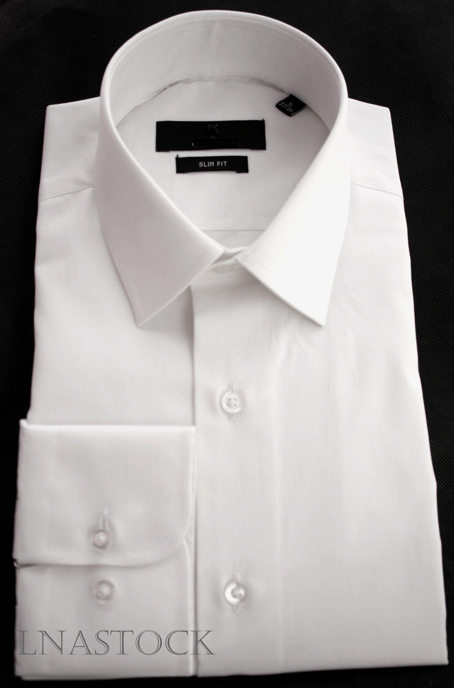 Chemise blanche cintrée pur coton - LNASTOCK   Les chemises blanches ... 506647495005