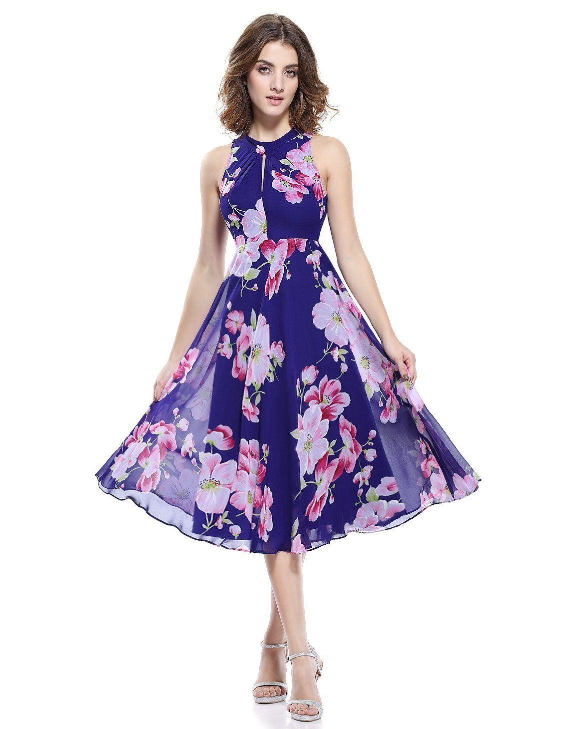 Vestido primaveral Klervi | Vestidos | Pinterest | Vestiditos ...