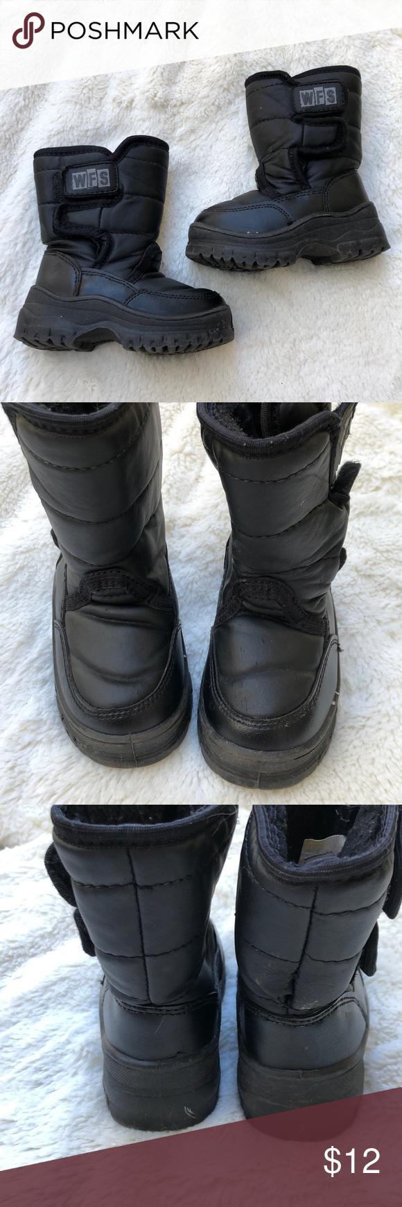 BOGO Black Toddler Snow Boots | Toddler