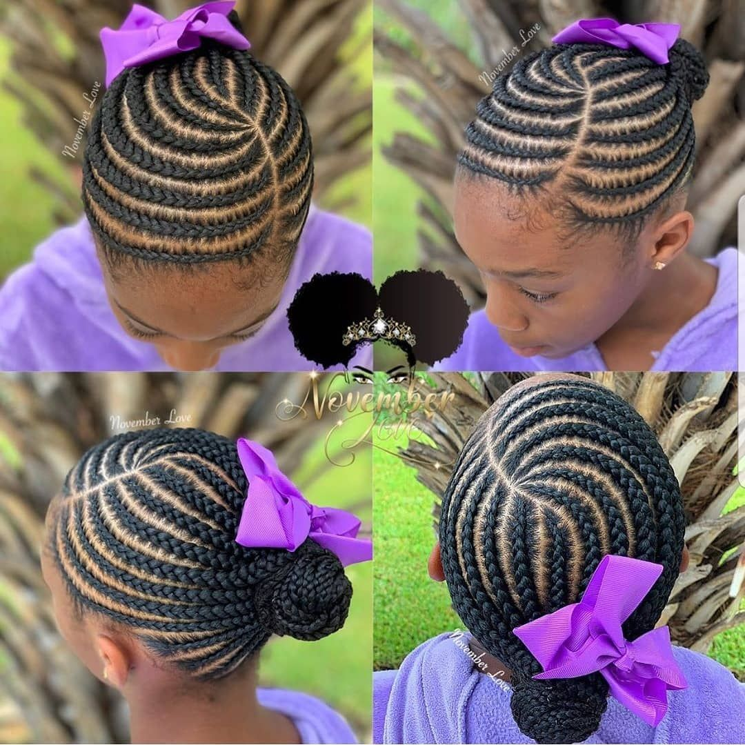 Kidshairstyles Kidsbraids On Instagram Featured Novemberlov3 Follow Kissegirl Braids For Black Hair Kids Braided Hairstyles African Braids Hairstyles