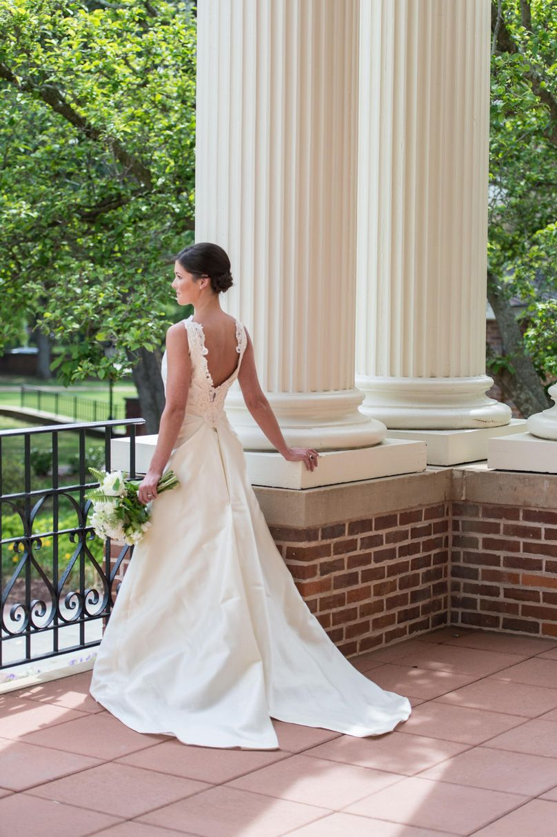 Charming Raleigh Wedding With a Natural Theme - SB&G   White ...
