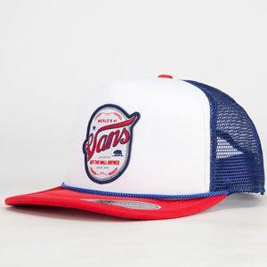 Off The Wall Brewed Trucker Hat | Shop Mens Hats At Vans