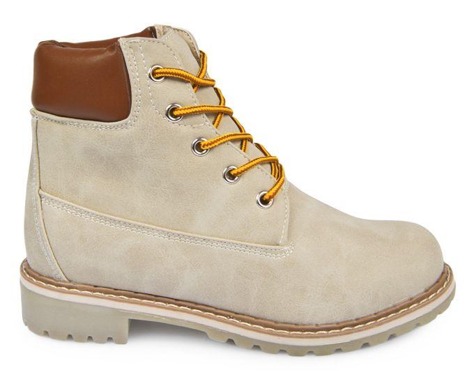 Trapery Workery Trekkingowe Botki Bezowe Boots Timberland Boots Shoes