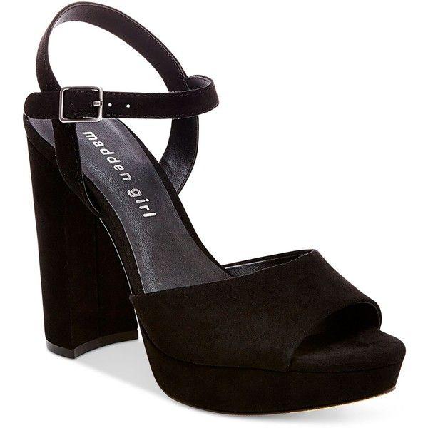 Madden Girl Sharpe Block-Heel Platform