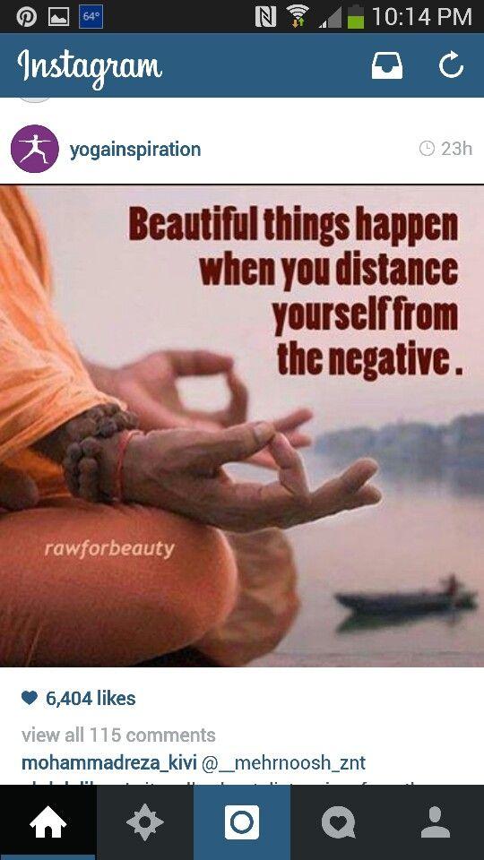 Negativity can destroy you