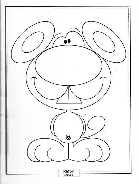 Libro Para Colorear De Carmen Hunt 011 Jpg Animalitos Para Colorear Dibujos De Animales Dibujos Para Colorear