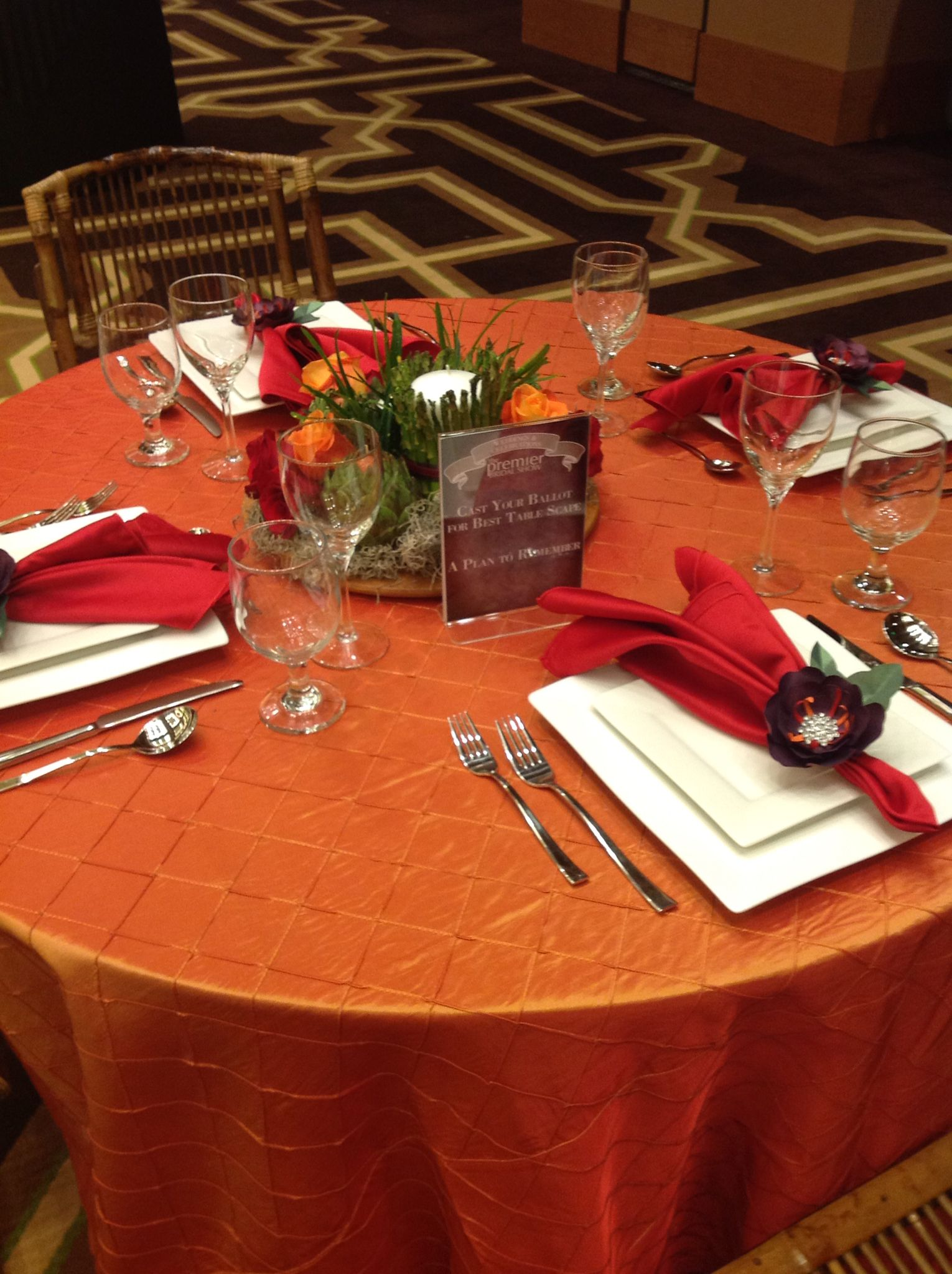 tablescape by: A Plan To Remember