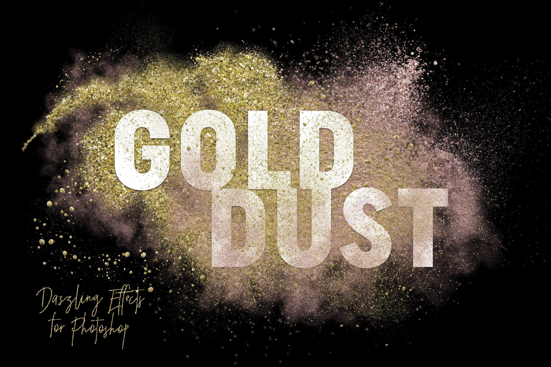 Gold Dust Glitter Effects Texture Photography Creative Market