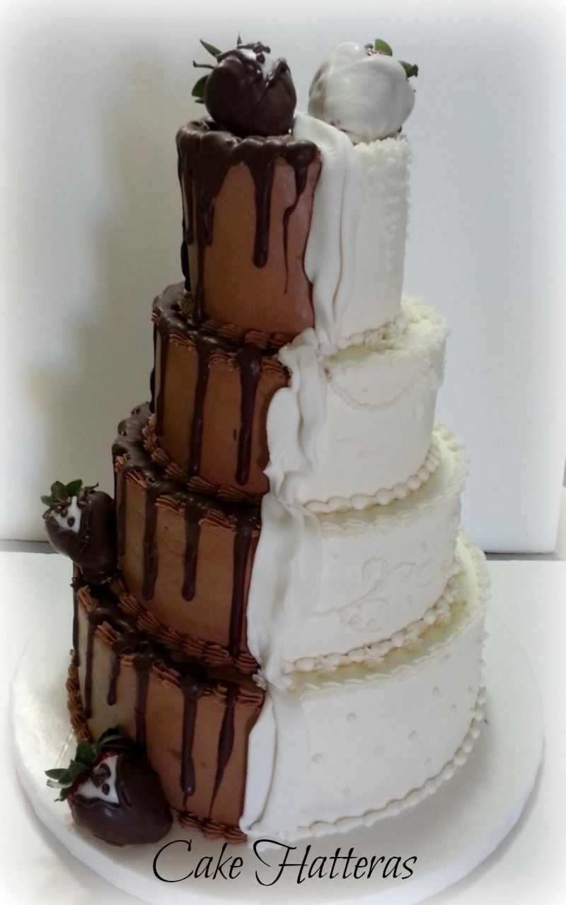 half wedding cake half grooms cake and groom s wedding cake 10 8 quot 6 quot 4 quot half iced 15054