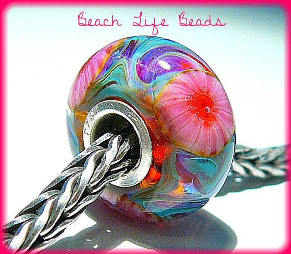 TWO LIPS OPAL Fully Lined Sterling Silver Big by beachlifebeads, $26.00