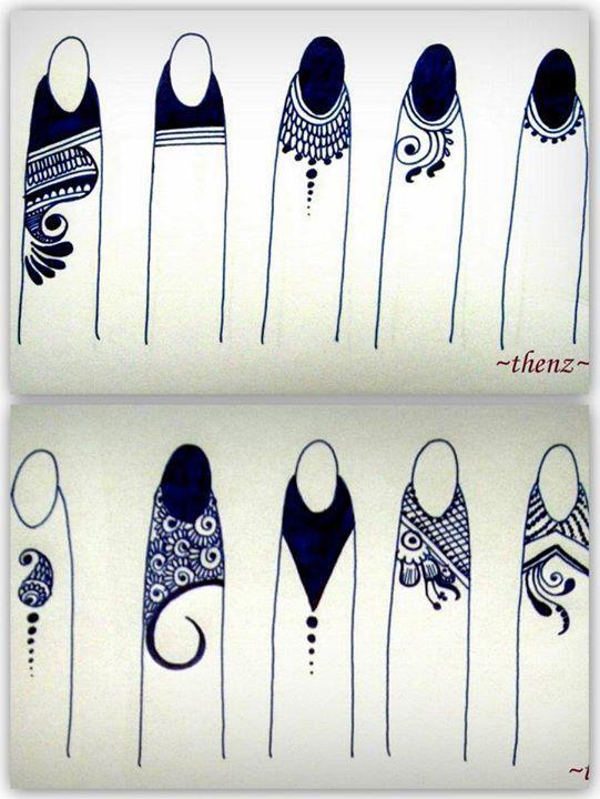 Mehndi Fingers Rating : Incredible henna tattoo design inspirations